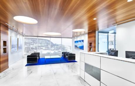 Projets récents: Blue Bridge réception