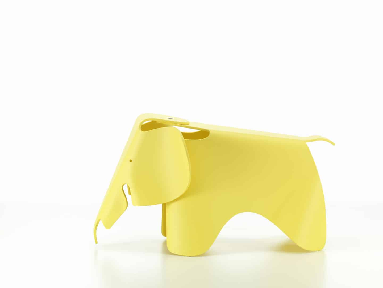 Eames-Elephant-Bouton-Or